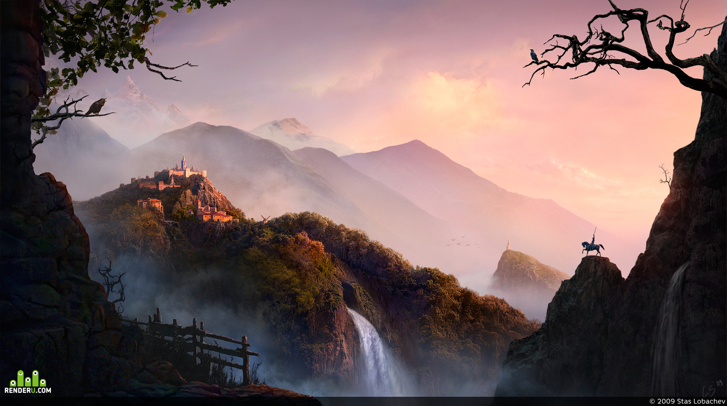 preview Golden Sunrise in Fairy Land