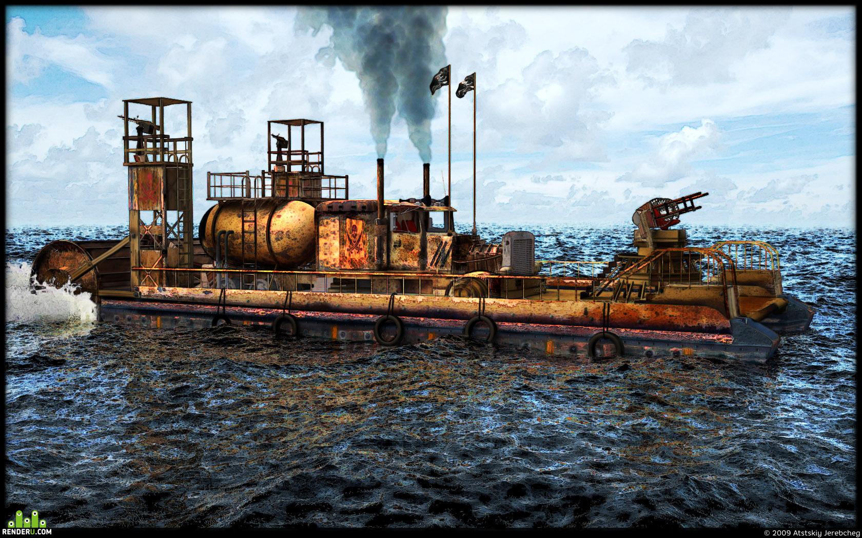 preview Piratskoe boevoe plavsredstvo