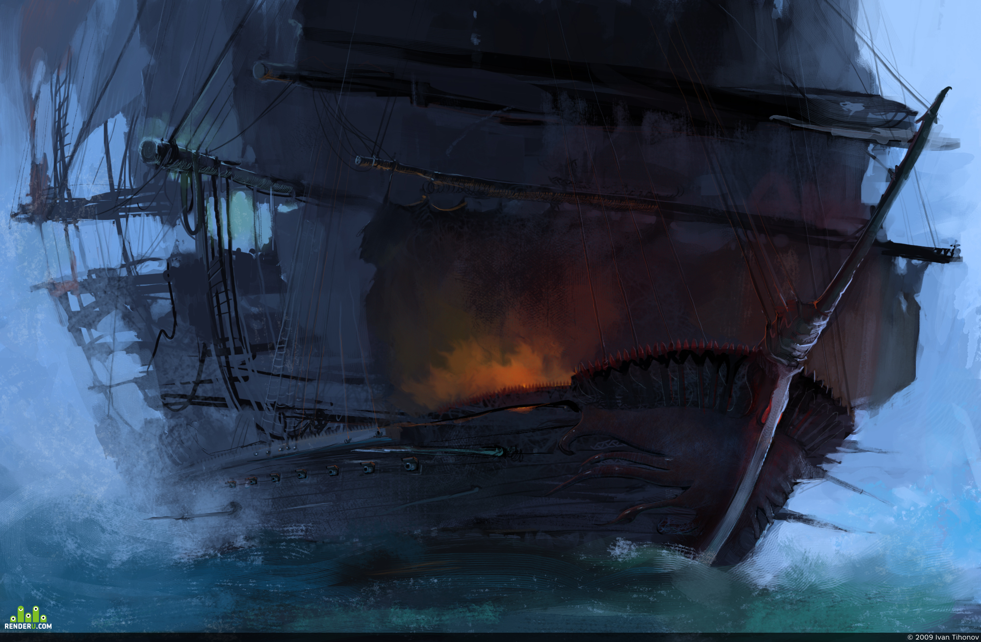 preview The mysterious piracy ship