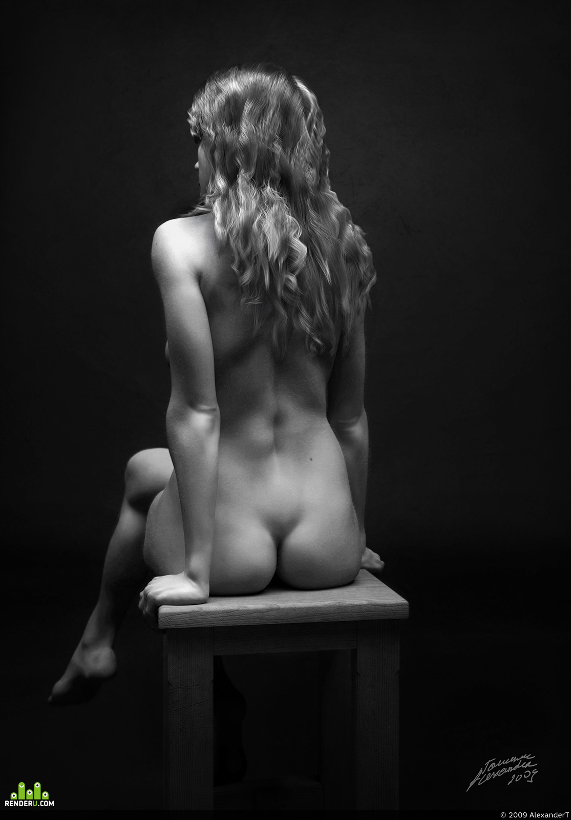 preview Girl on a chair