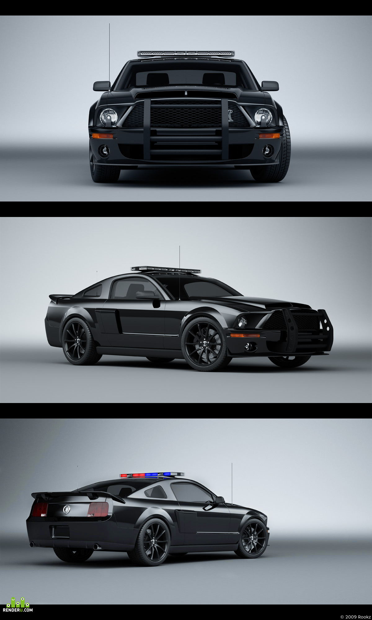 preview Ford Mustang GT500 KR Police Cruiser
