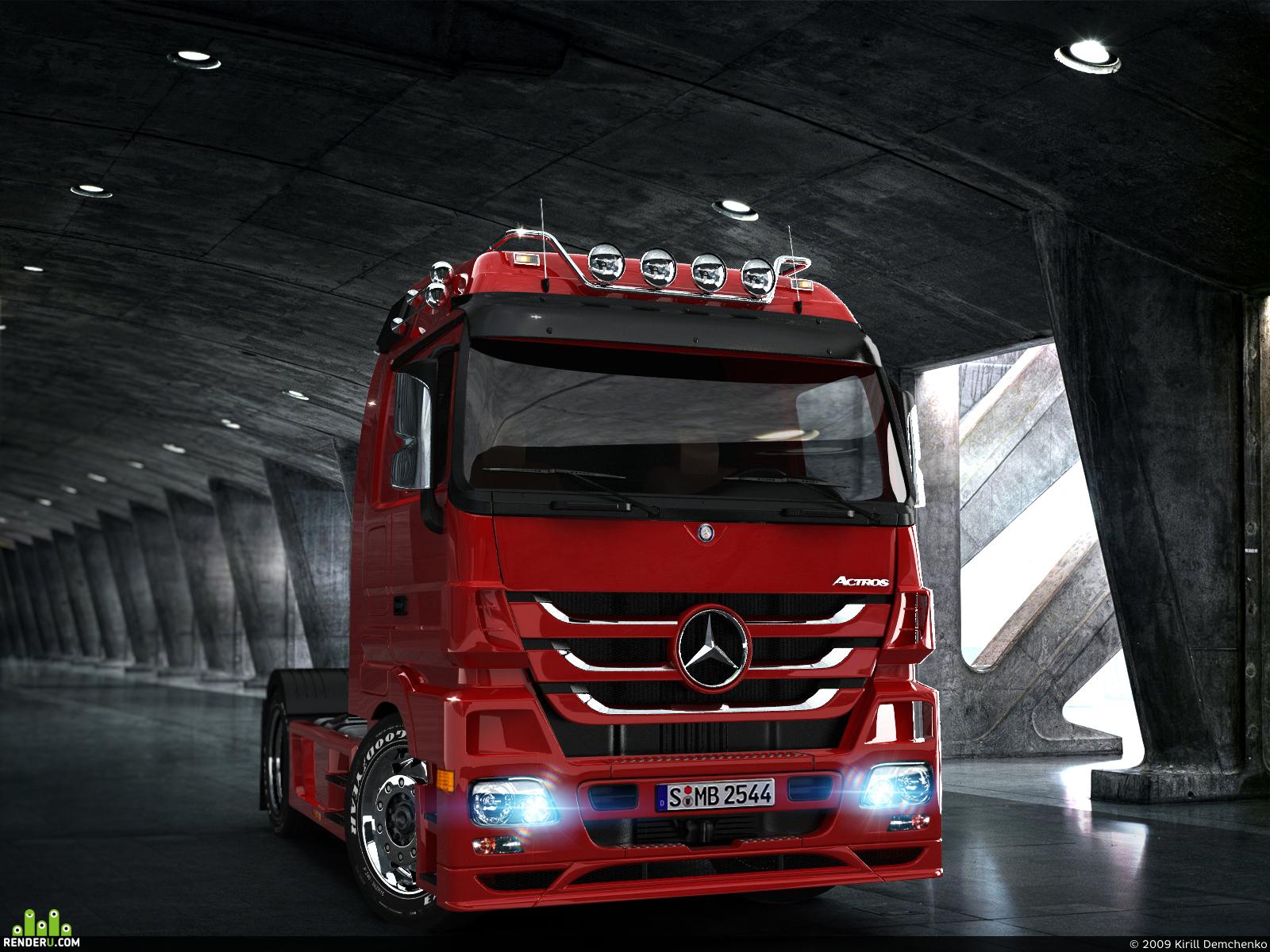 preview Mercedes Benz Actros