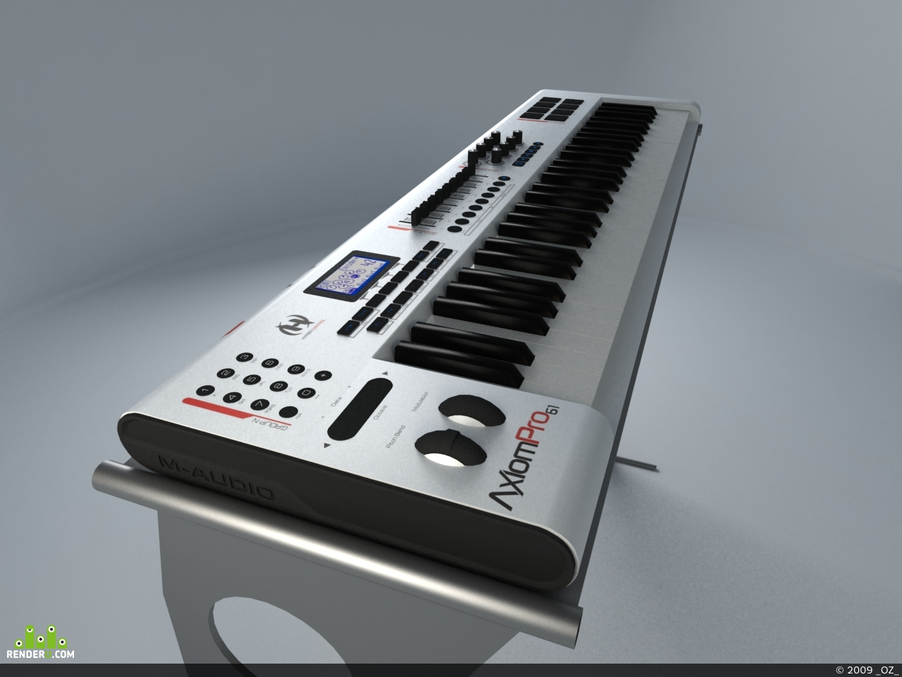 preview M-Audio Axiom Pro 61