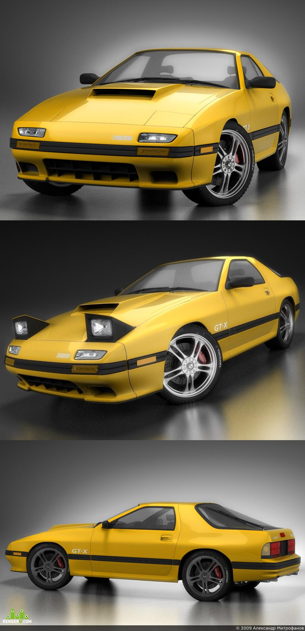 preview mazda RX-7 savanna