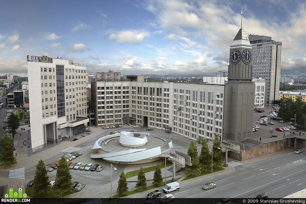 preview Подземная стоянка бизнес-центра «Европа» , г.Красноярск
