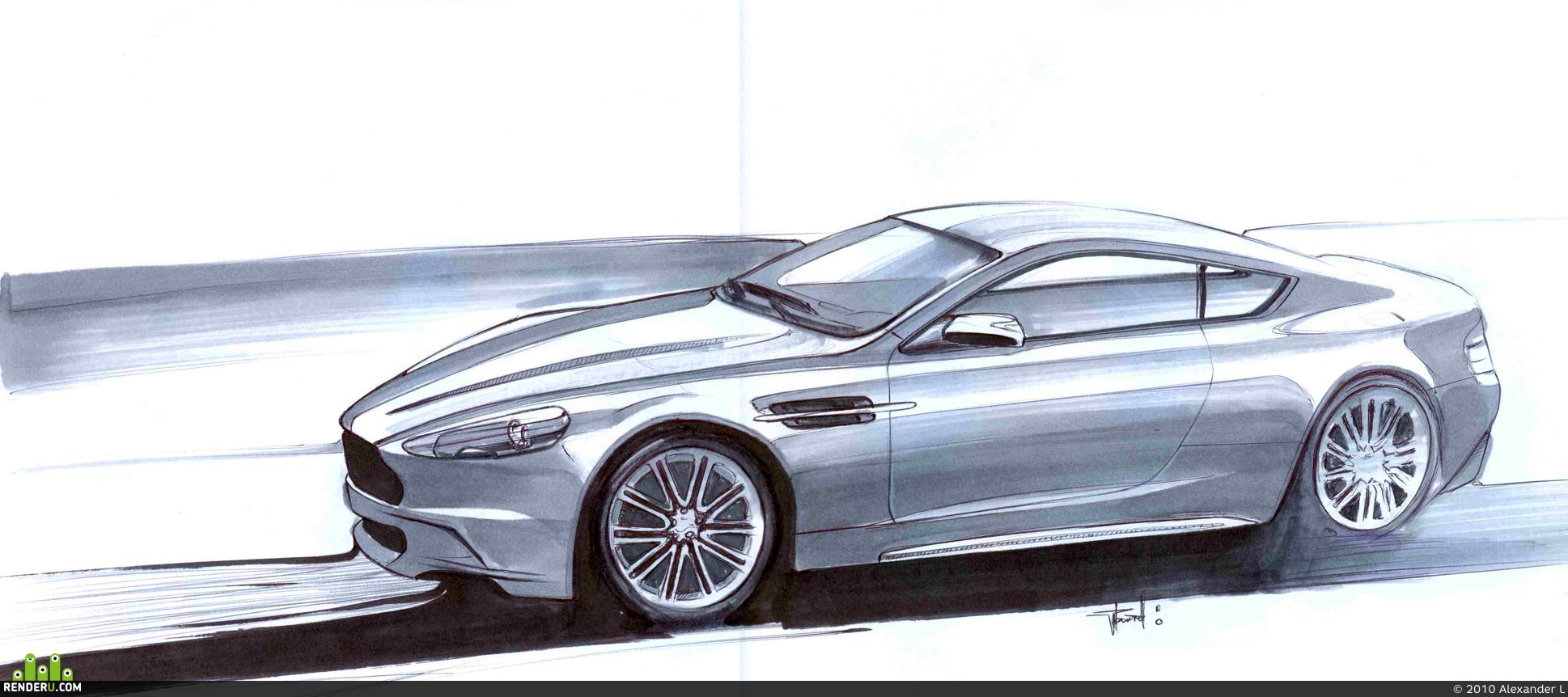 preview Aston Martin DBS