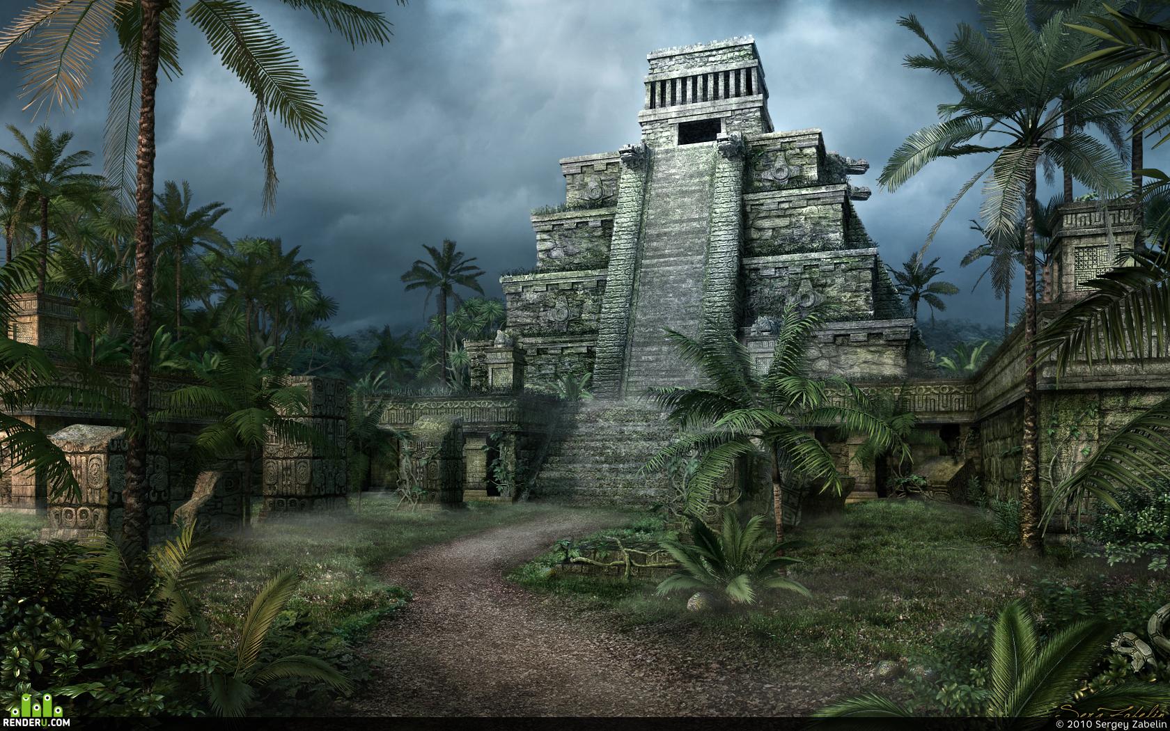 preview Piramida v djunglyah