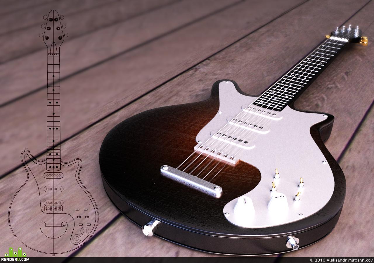 preview Guitar BlackWood