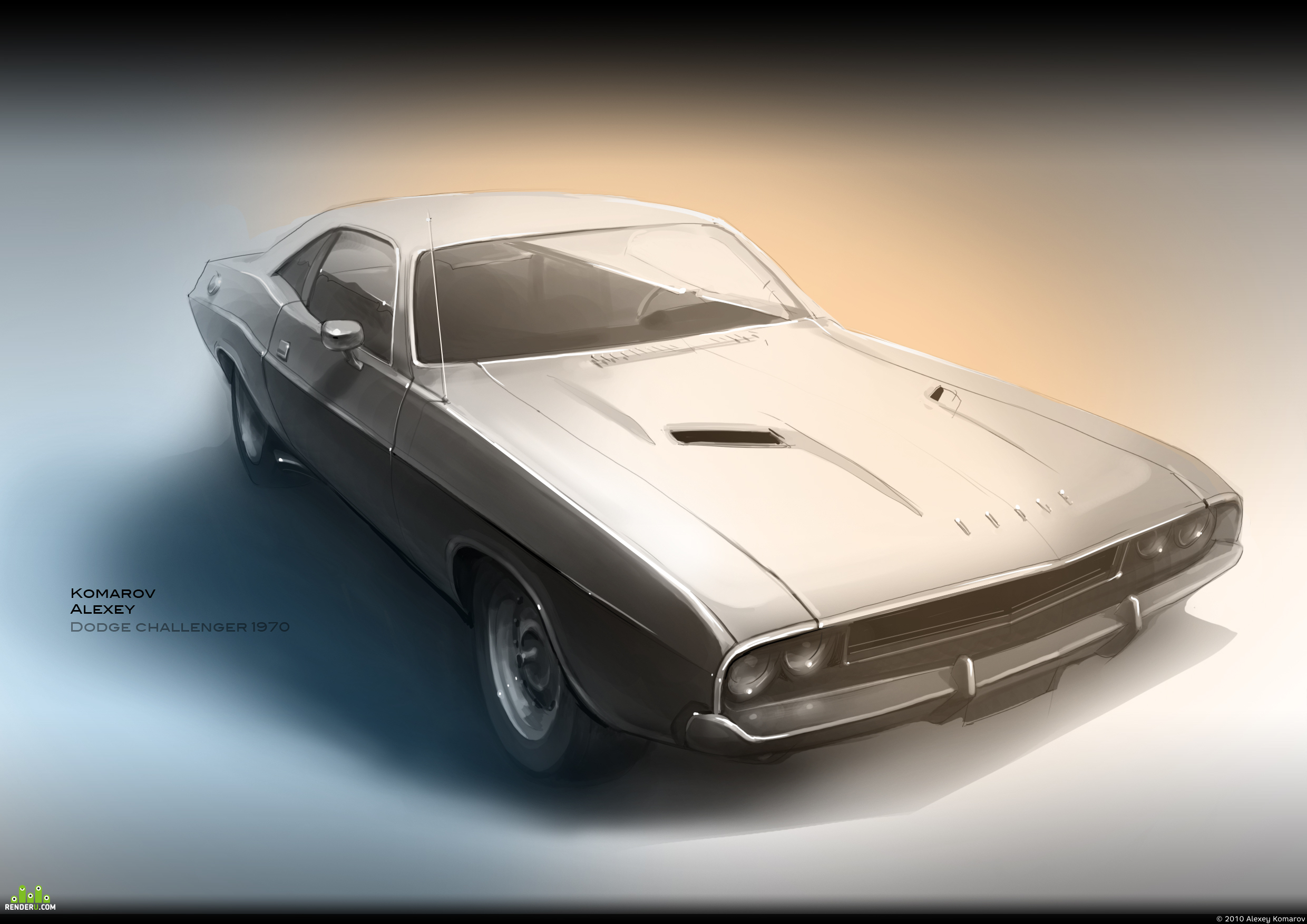 preview Dodge Challenger 1970