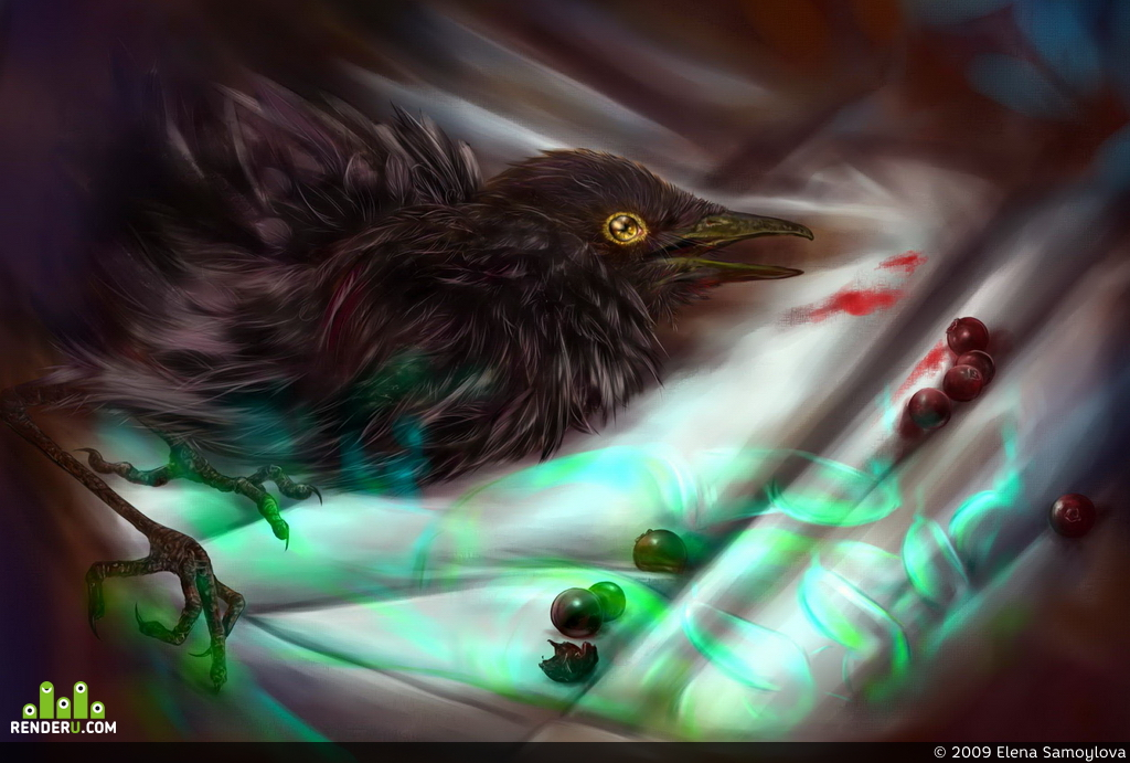 preview Sick bird