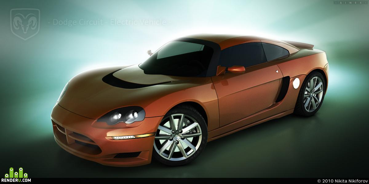 preview Dodge Circuit EV