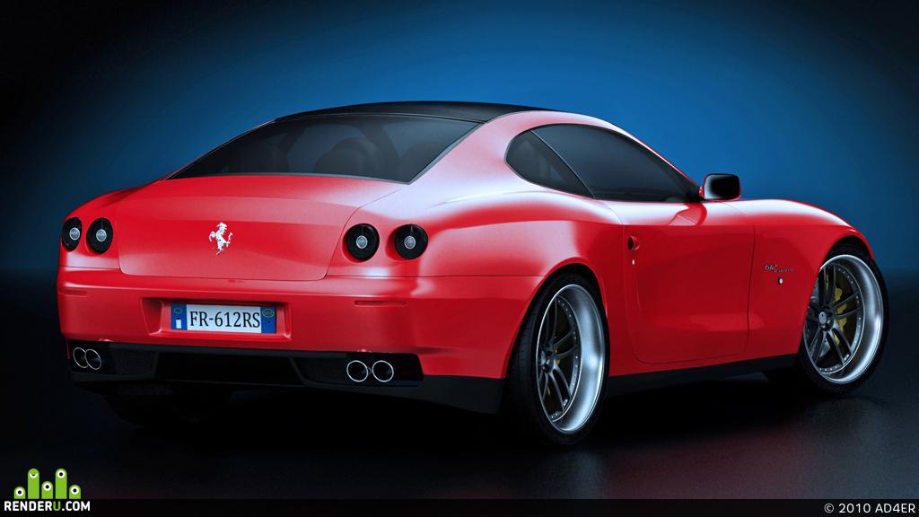 preview Ferrari 612 Scaglietti Novitec Rosso