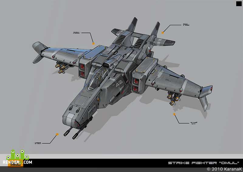 preview Strike Fighter OMUL