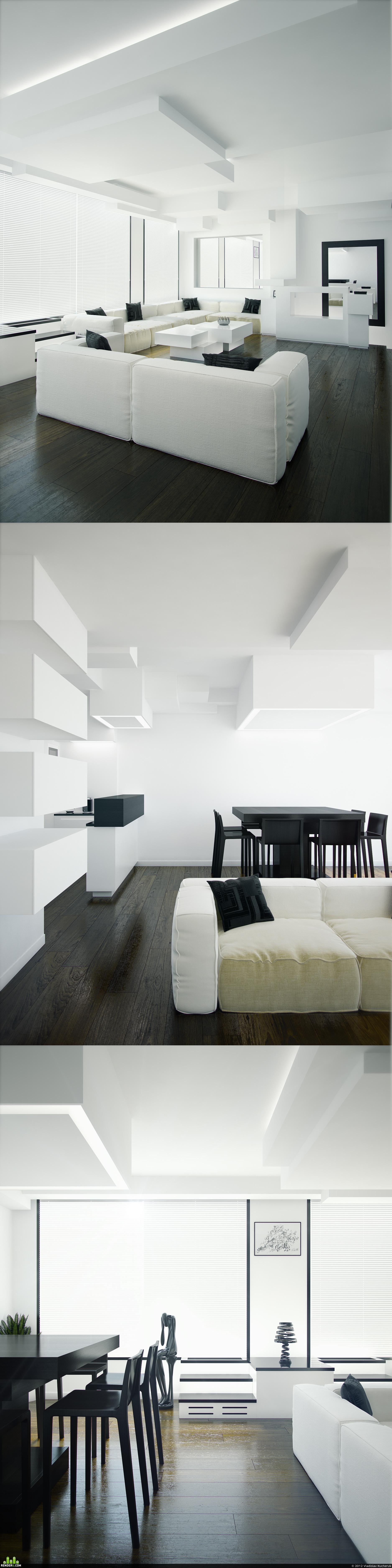 preview The interior design apartments in Paris