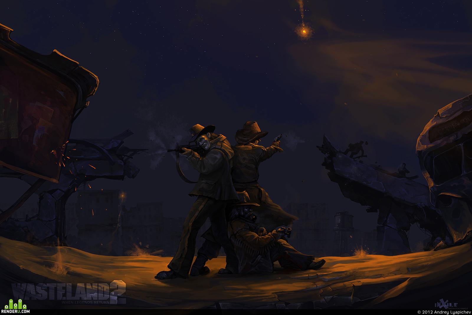 preview Засада - плакат для игры Wasteland 2