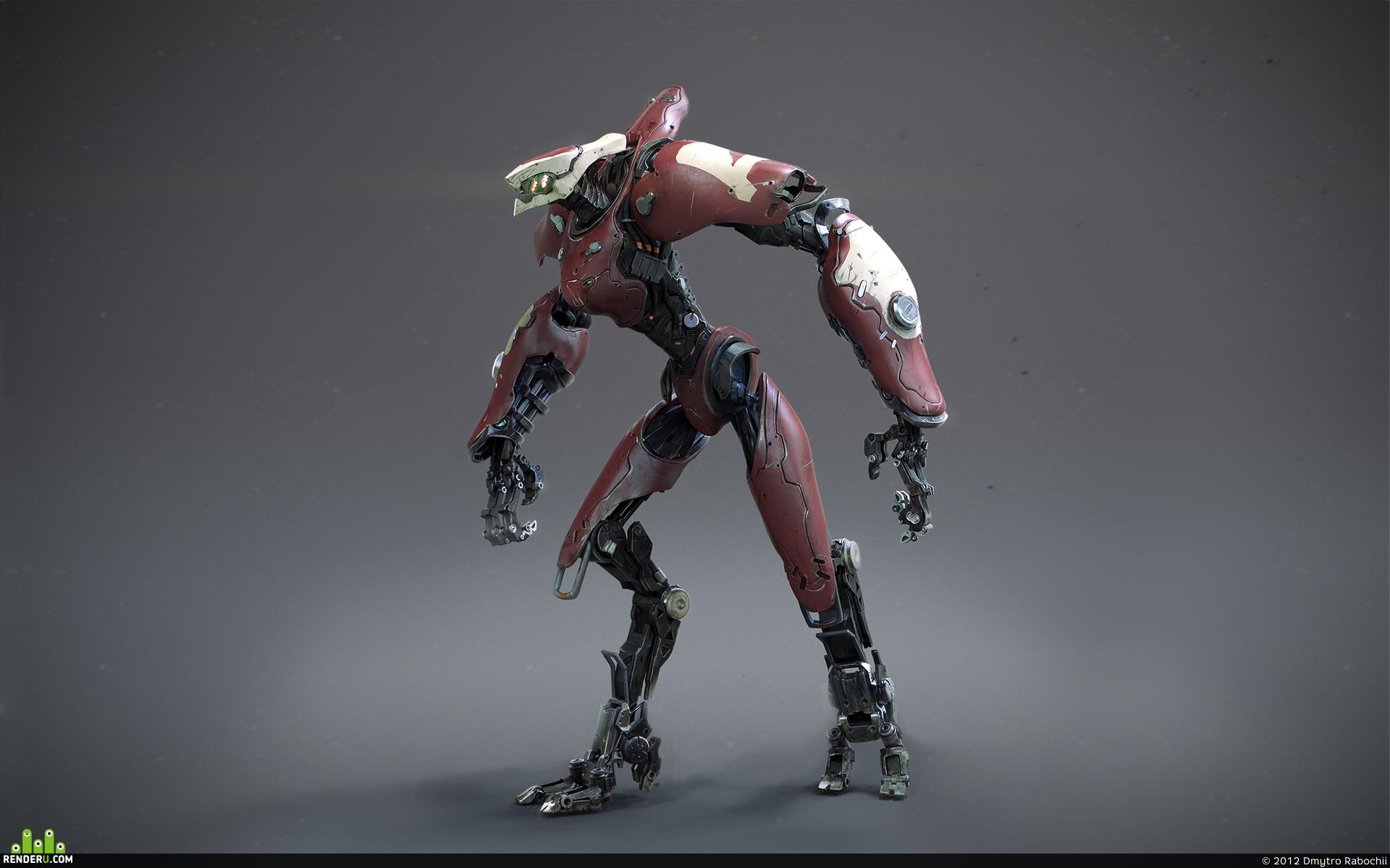 preview Долговязый робот