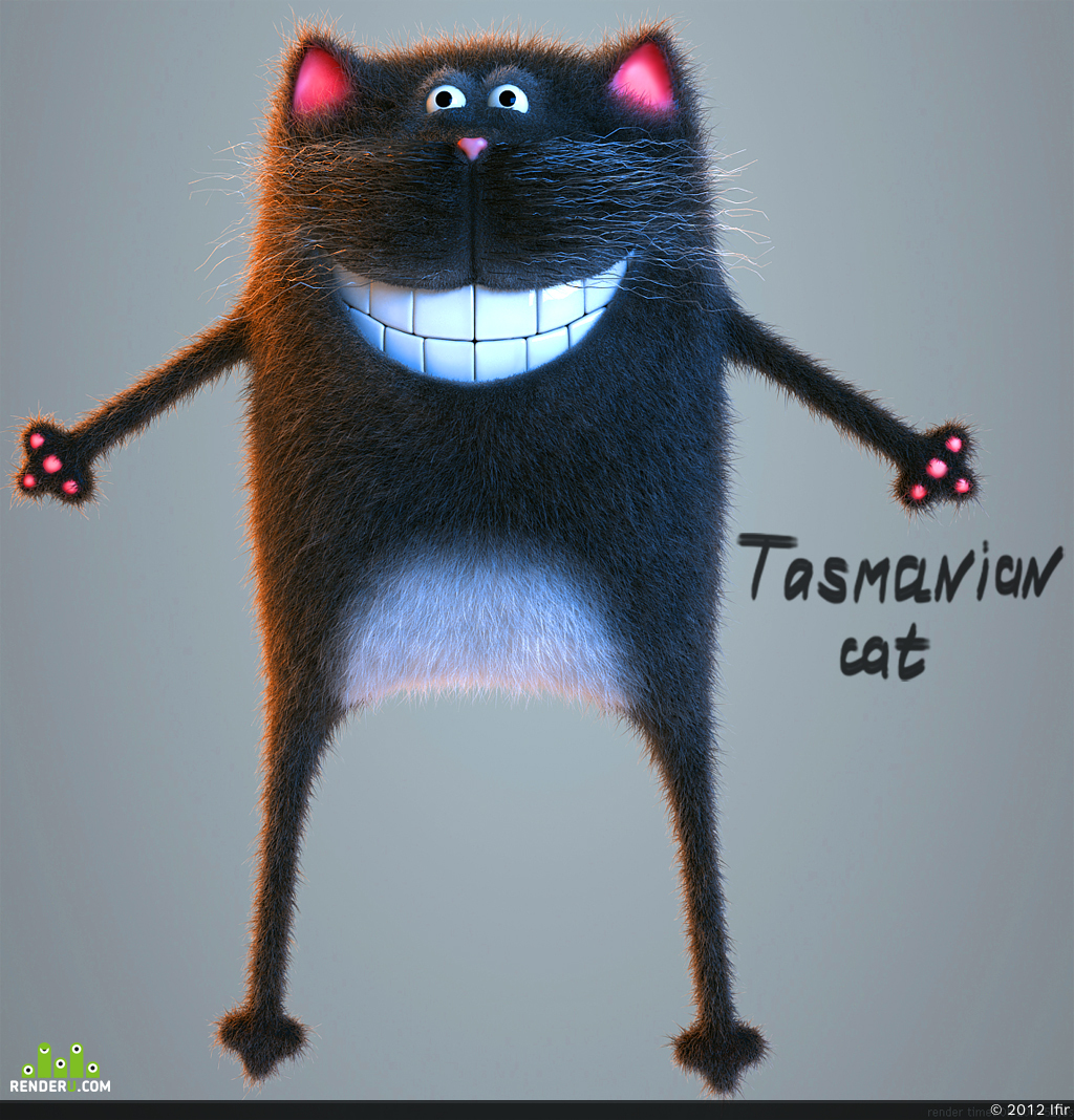 preview Тасманский кот