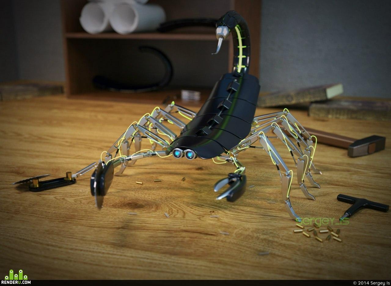 preview Texno scorpion