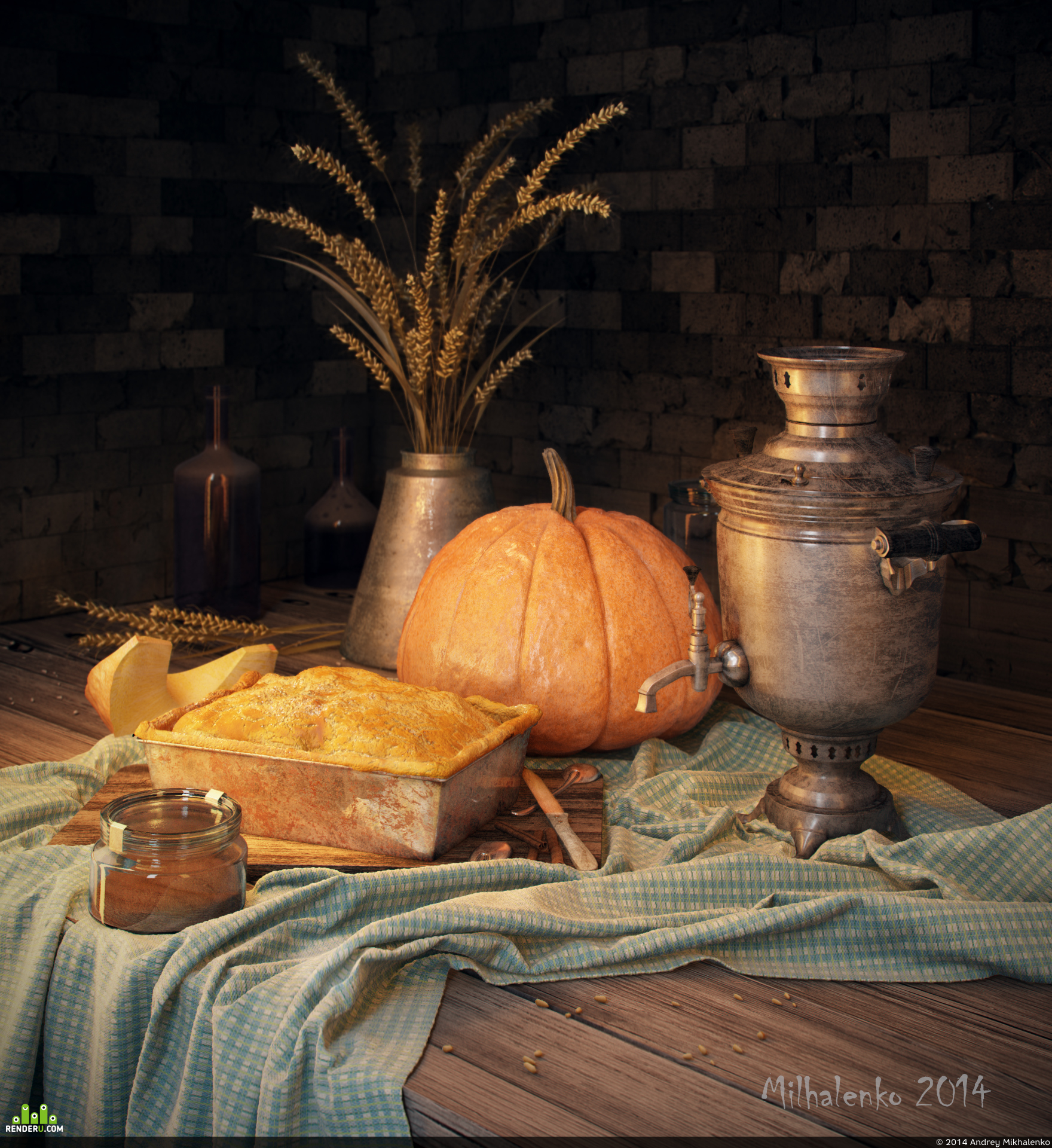 preview Still life with pumpkin