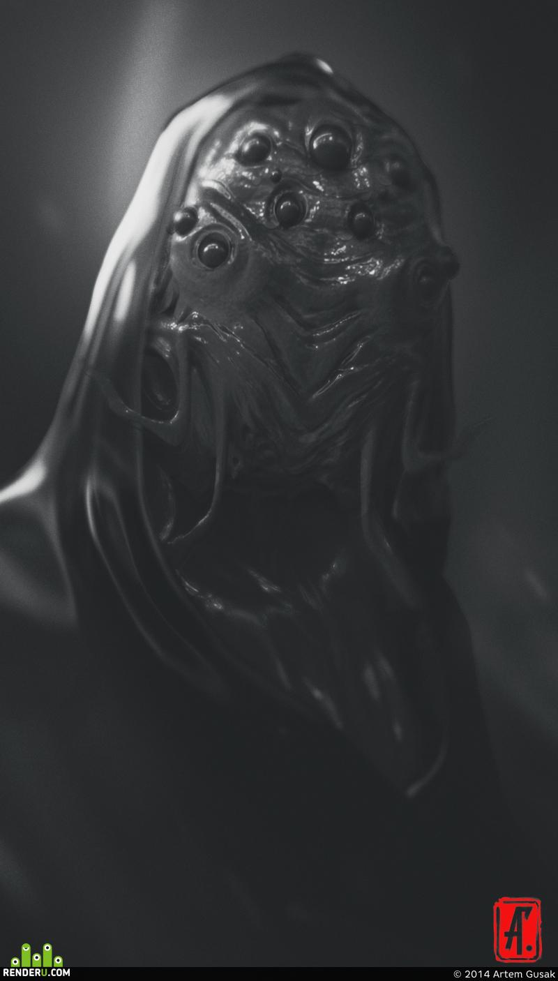 preview Инопланетный монах