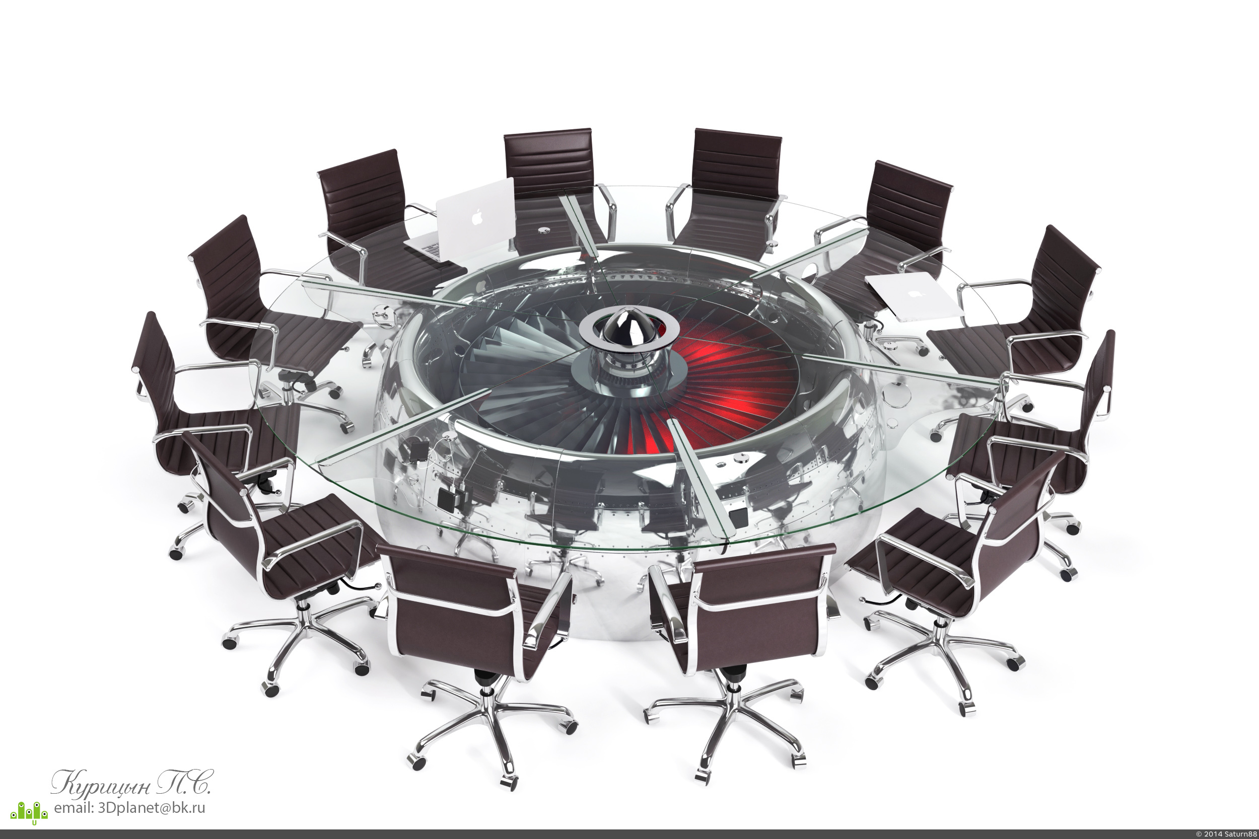 preview Boeing 747 Jumbo Jet Conference Table  Epic