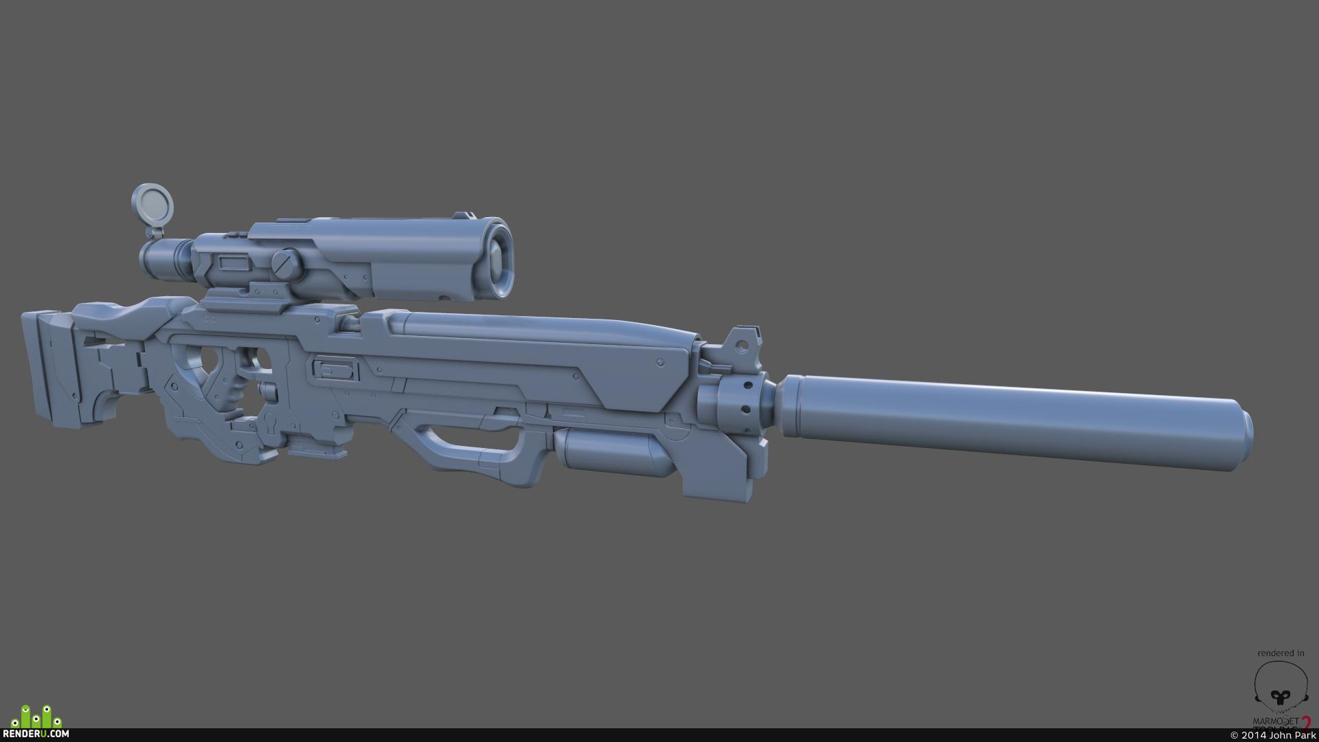 preview Bryan Flynn concept gun