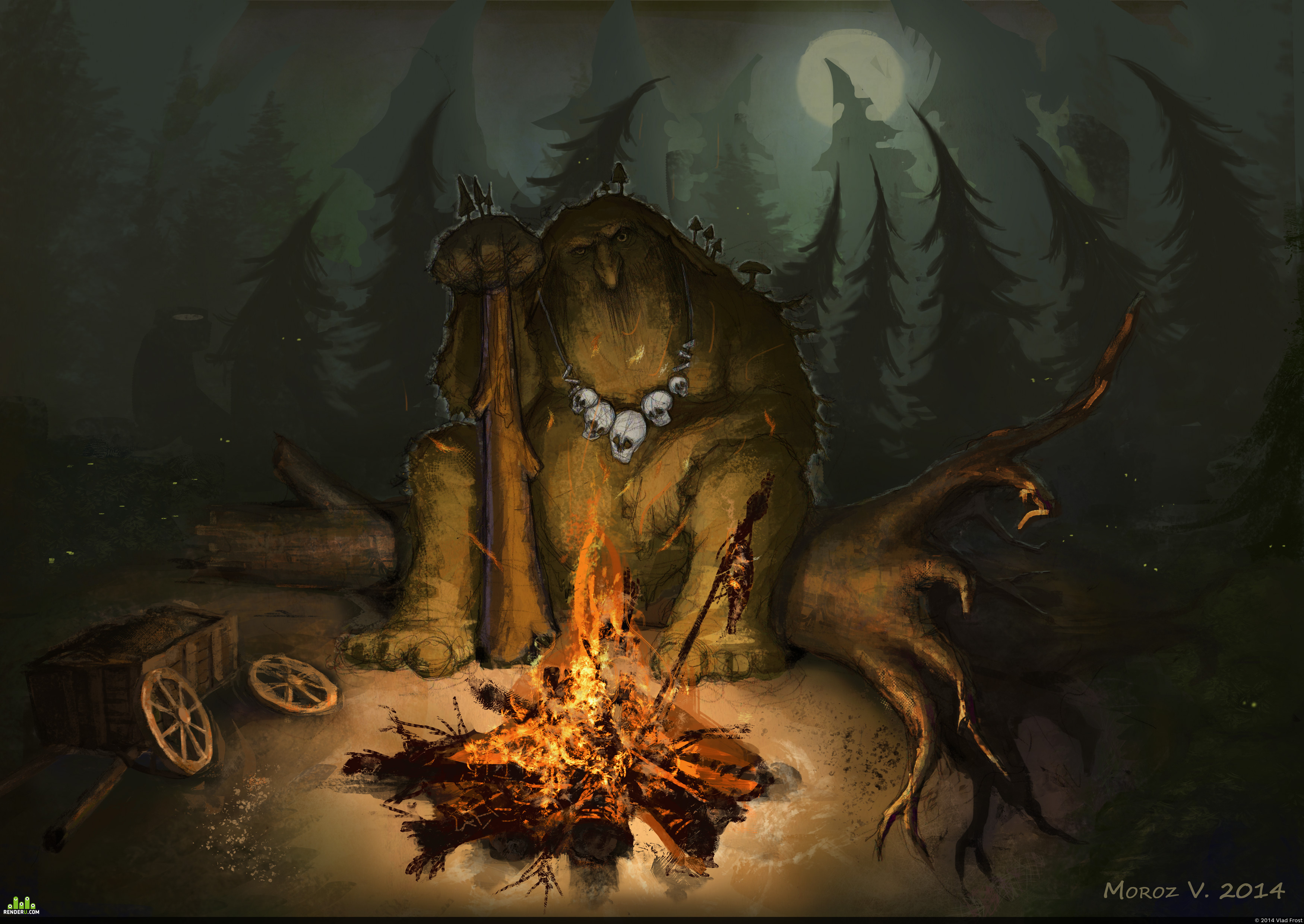 preview Лесной тролль