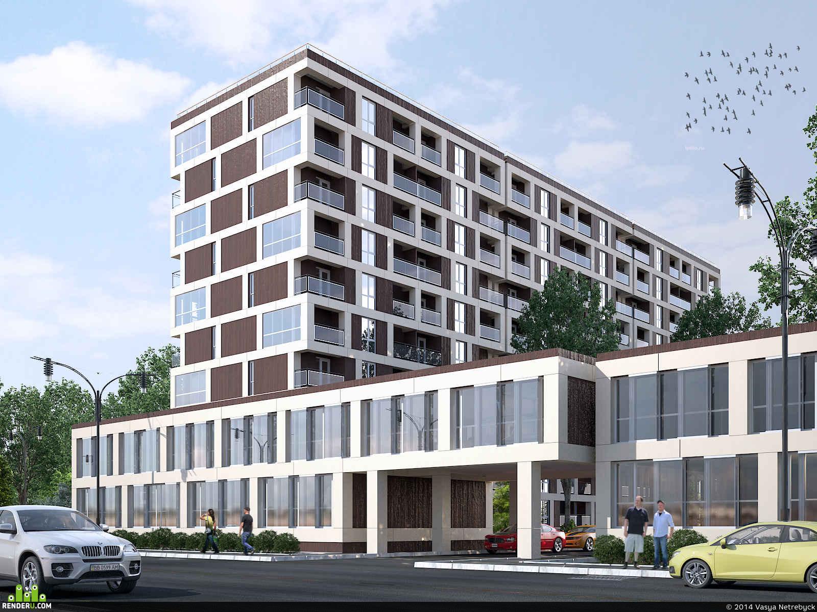 preview Многоквартирный жилой дом