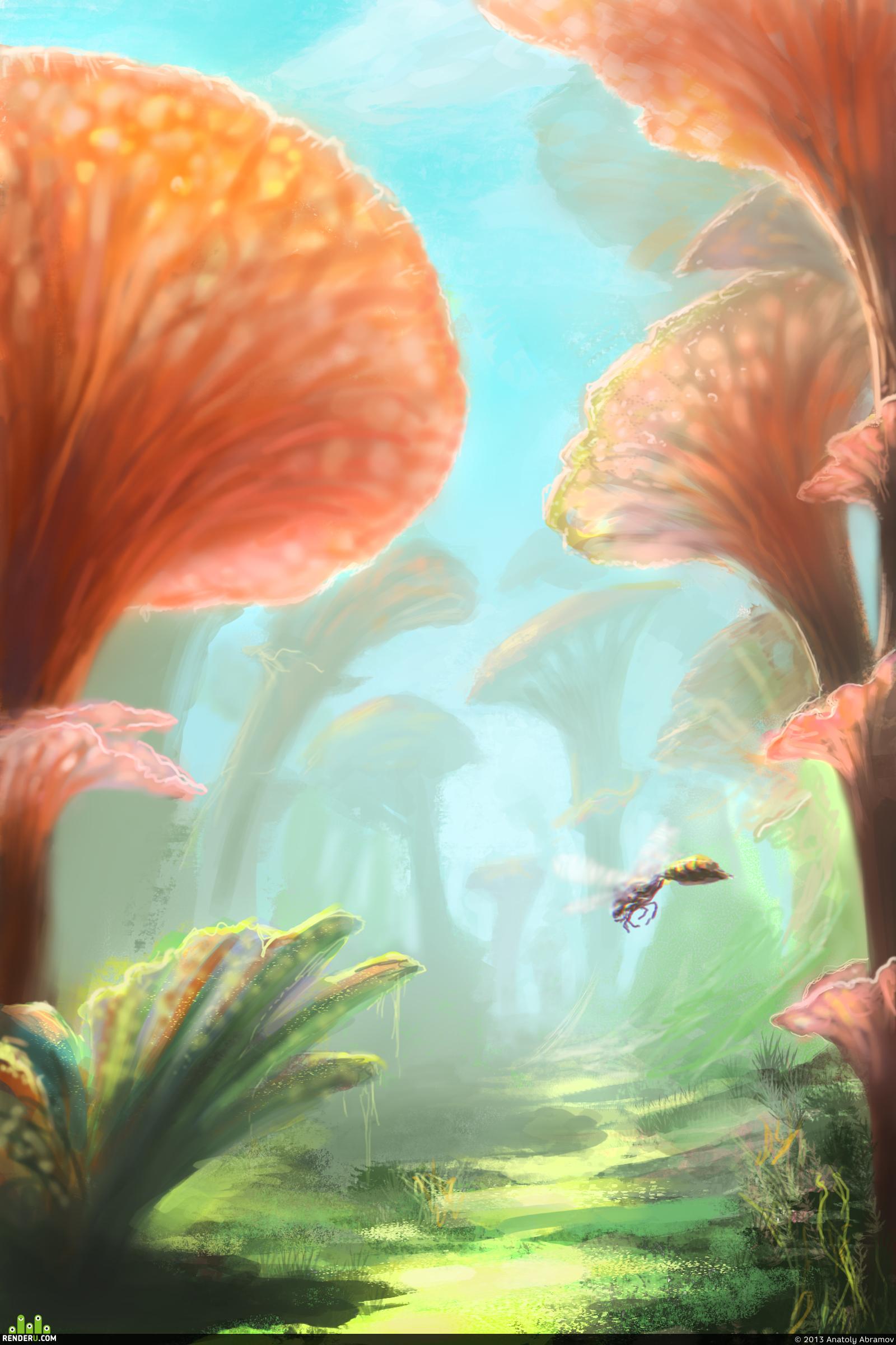 preview Долина гигантских грибов