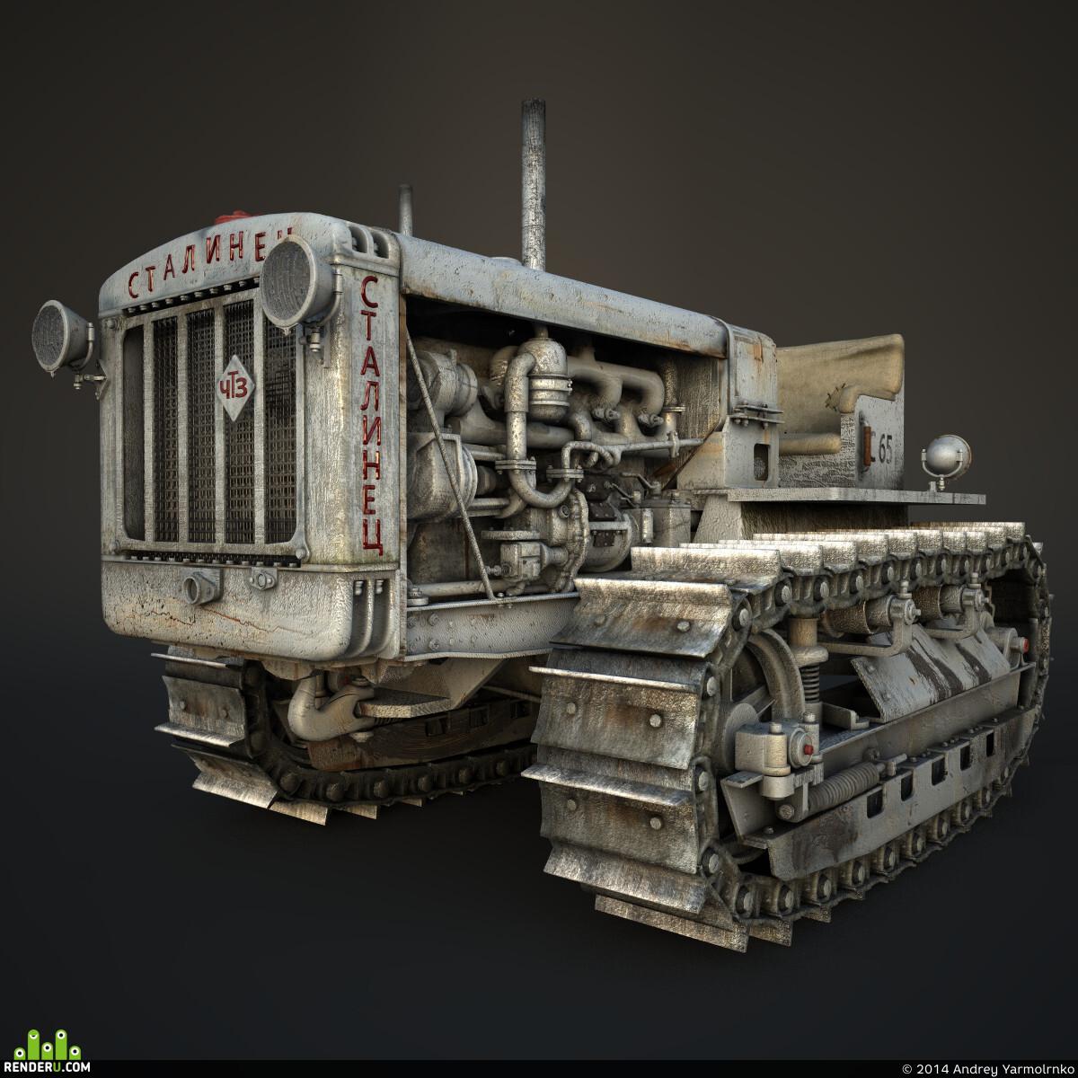 preview Сталинец С-65 трактор