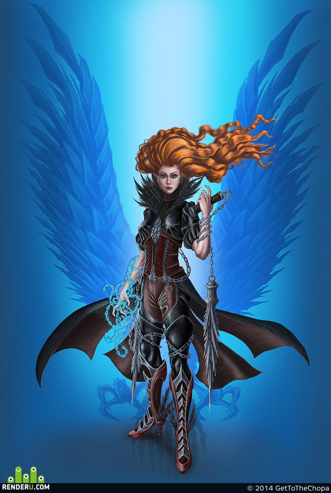 preview Магическая воительница