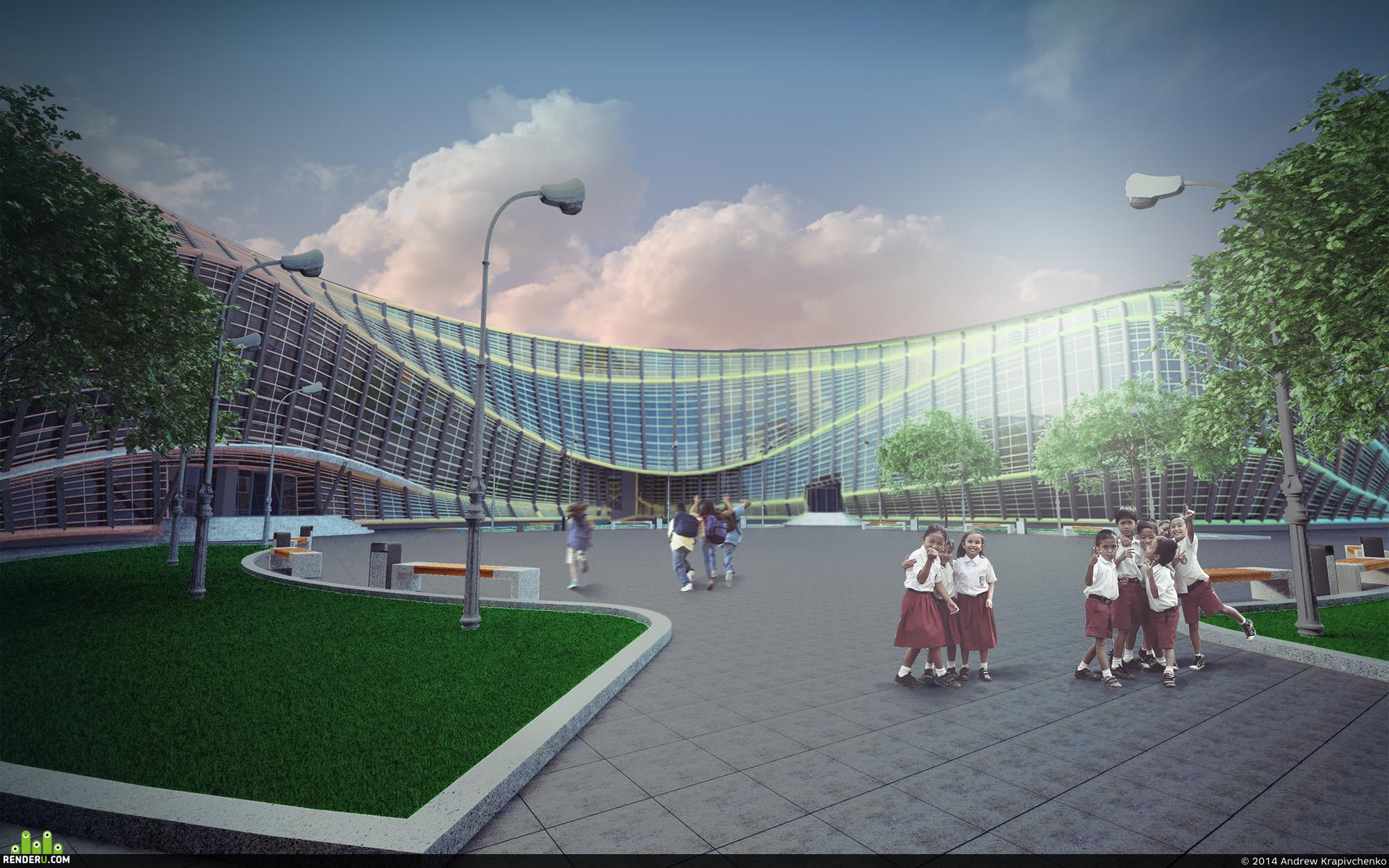 preview Проект общеобразовательной школы