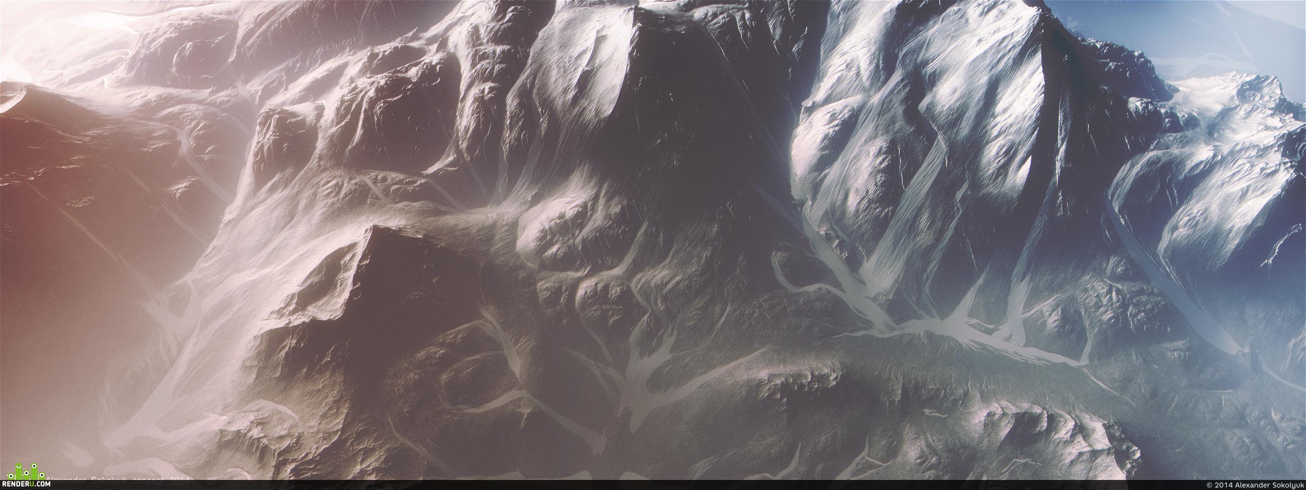 "preview ""Горы Титана"""