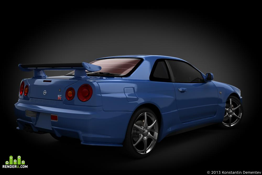 preview Ниссан Скайлайн GT-R (BHR34) V Spec II