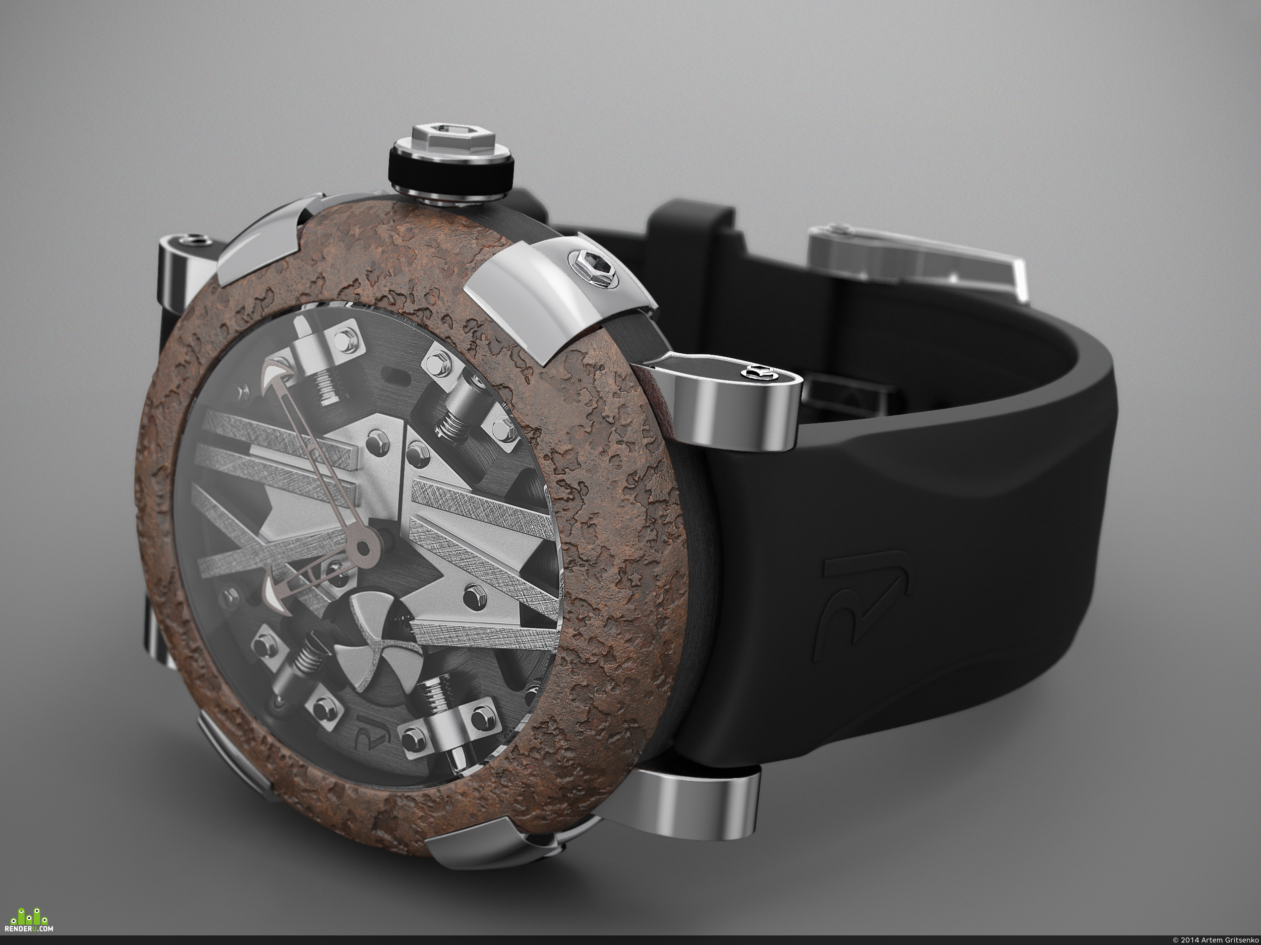 preview Наручные часы Romain Jerome Titanic-DNA Steampunk Metal Auto