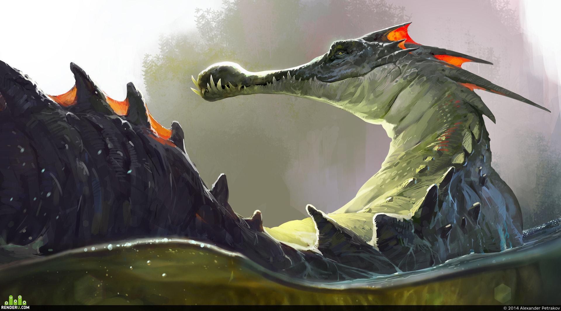 preview морской дракон