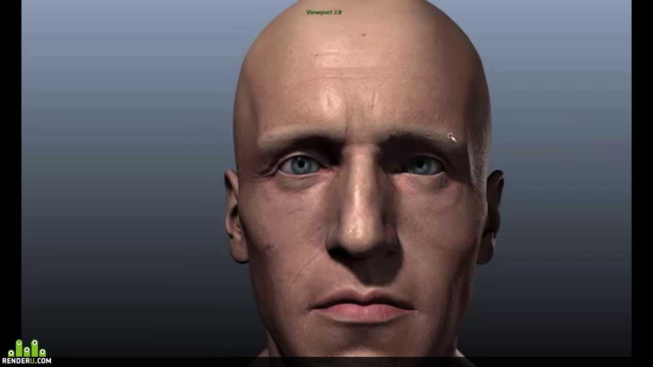 preview Шоурил лицевого риггинга