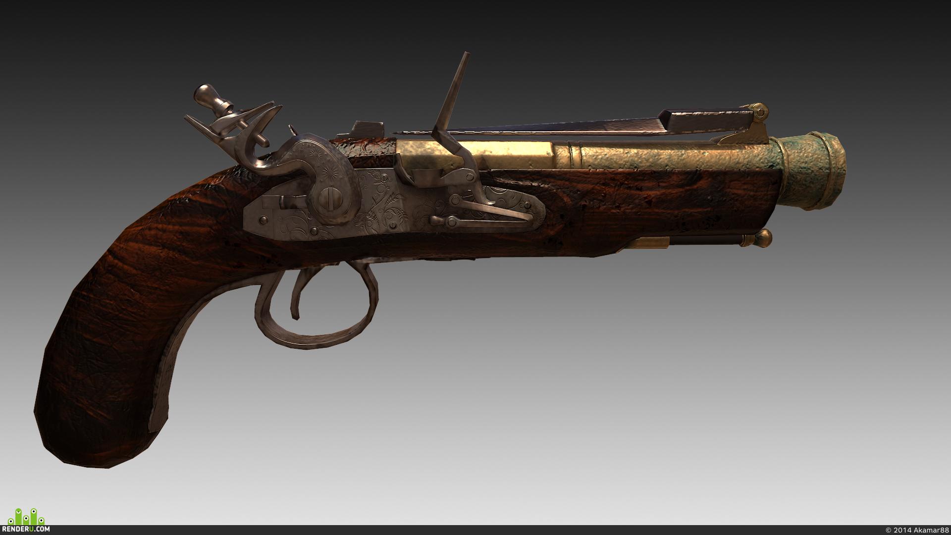 preview Кремневый пистолет