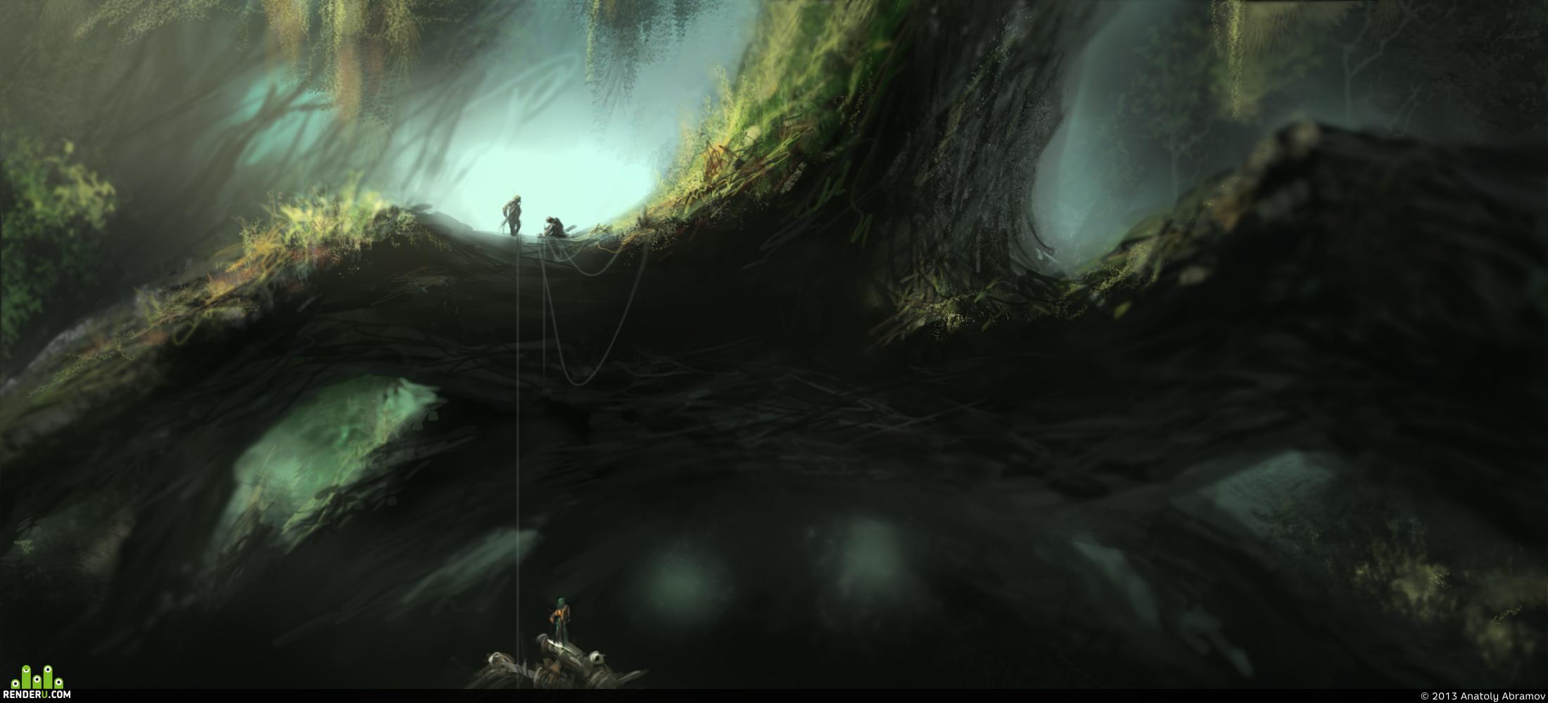preview Под гигантскими корнями..
