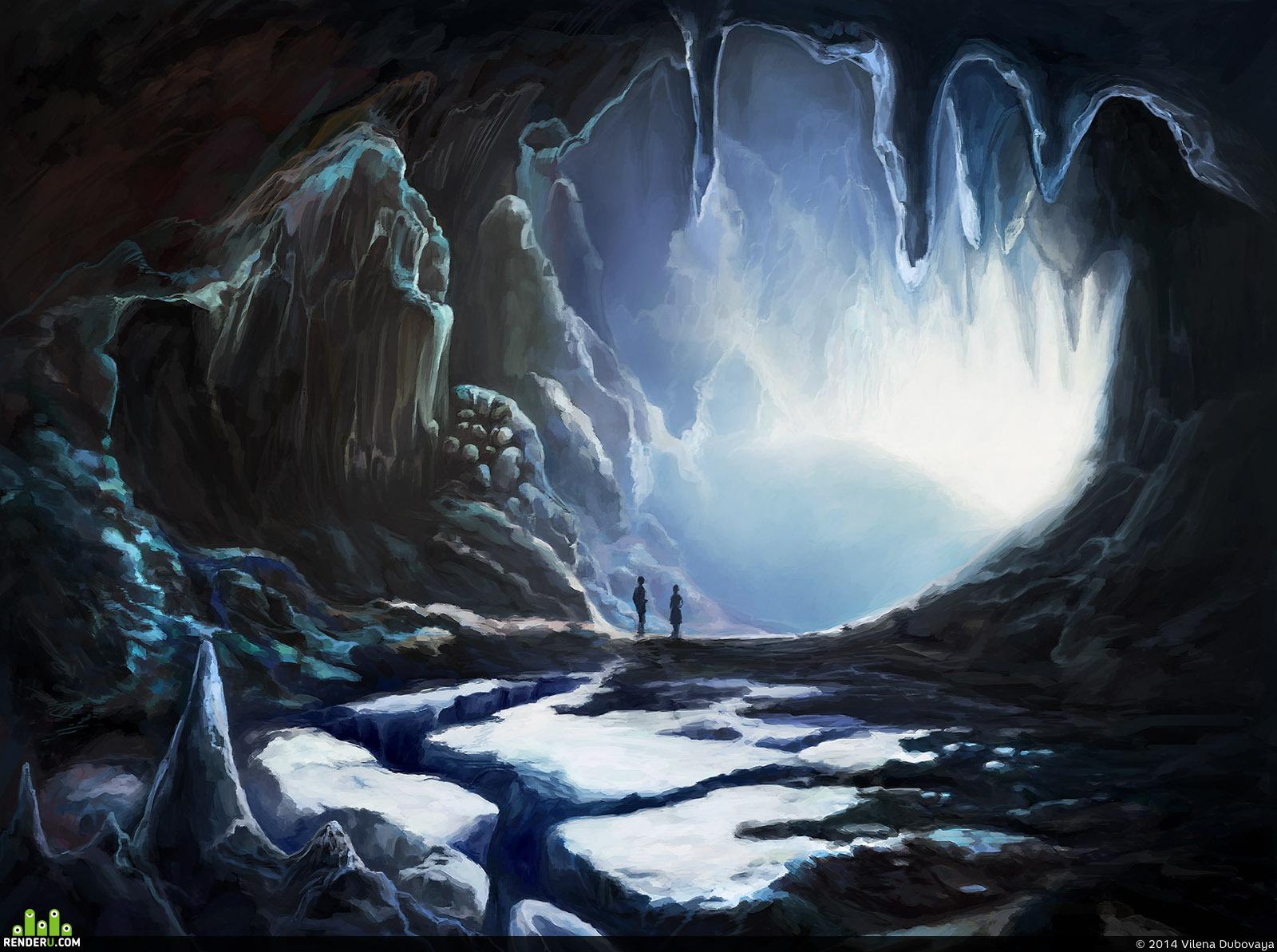 preview Двое в зимней пещере