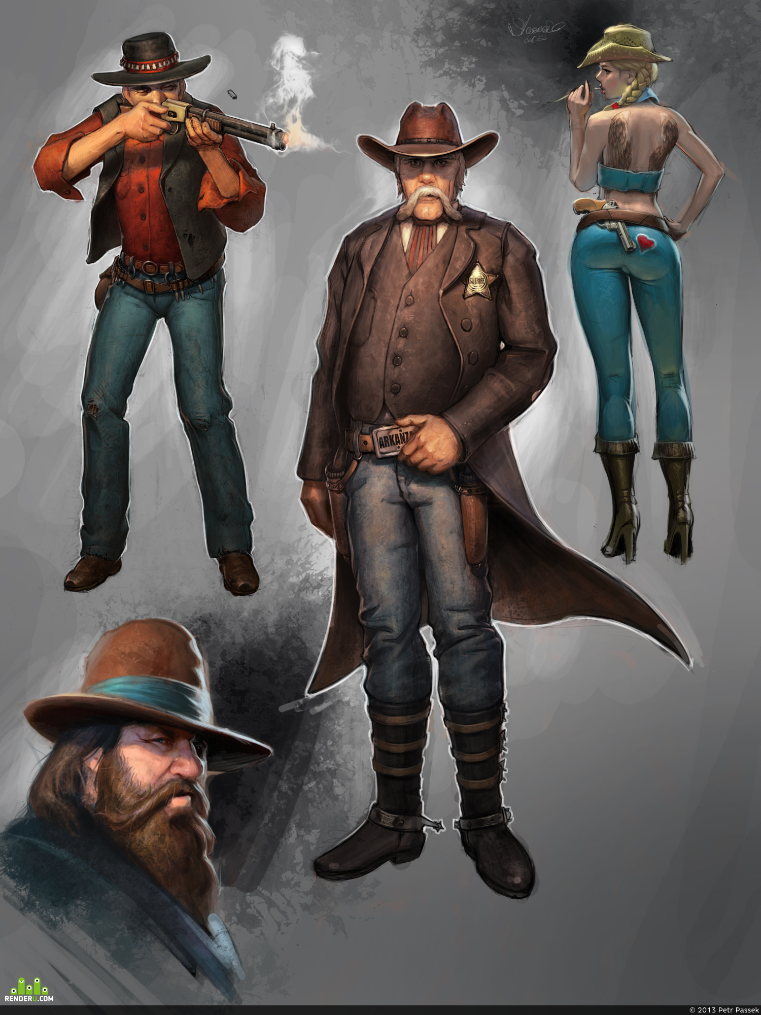 preview Концепты персонажей