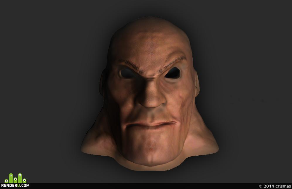 preview Лысая голова