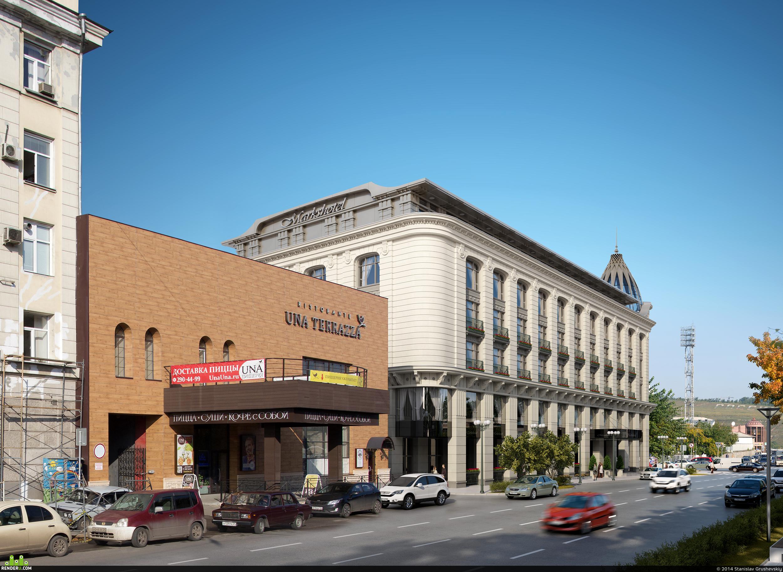 preview 2014   Гостиничный комплекс по ул. Ленина - ул. Перенсона в г.Красноярске