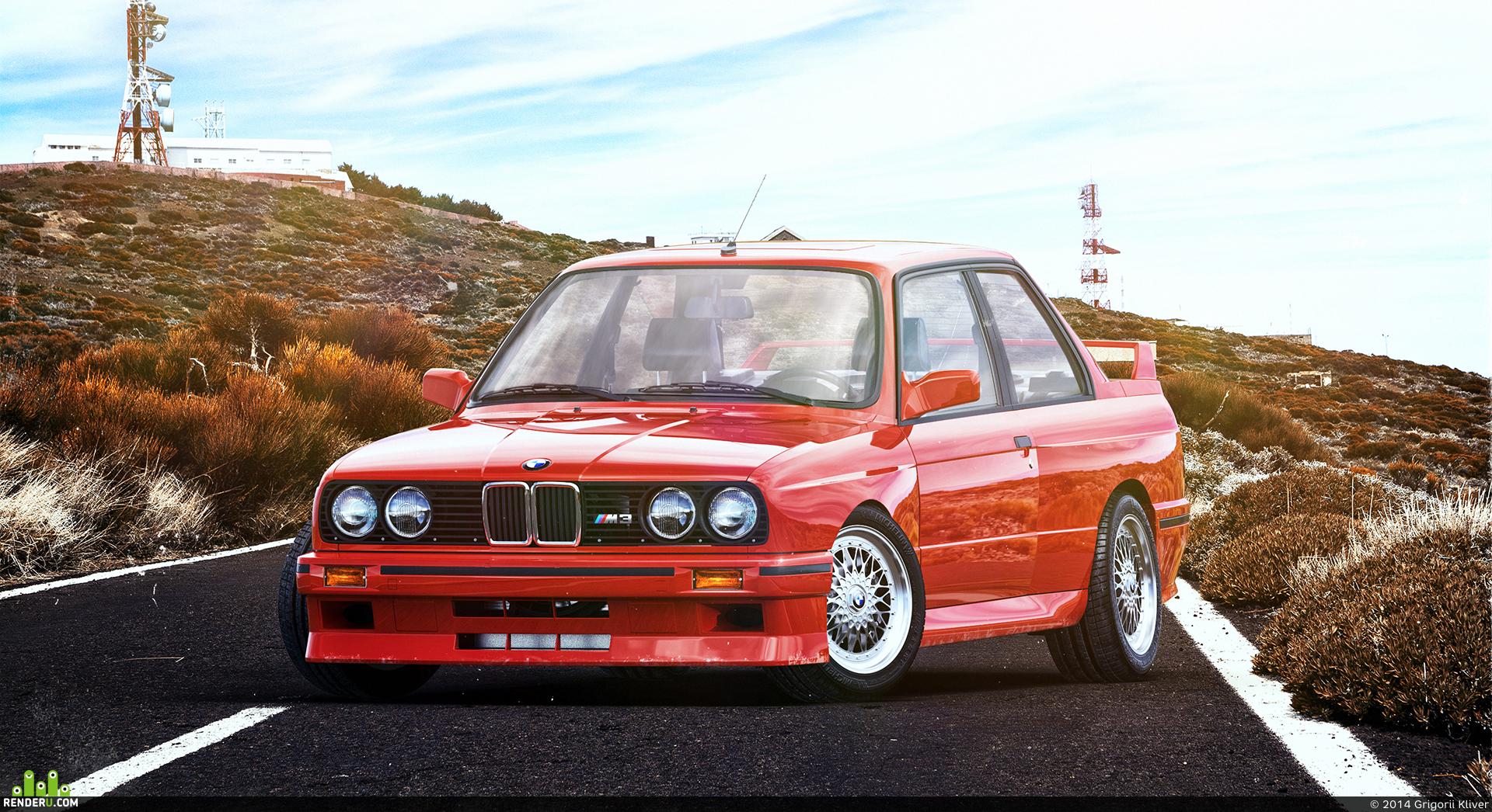 preview BMW M3 (e30)
