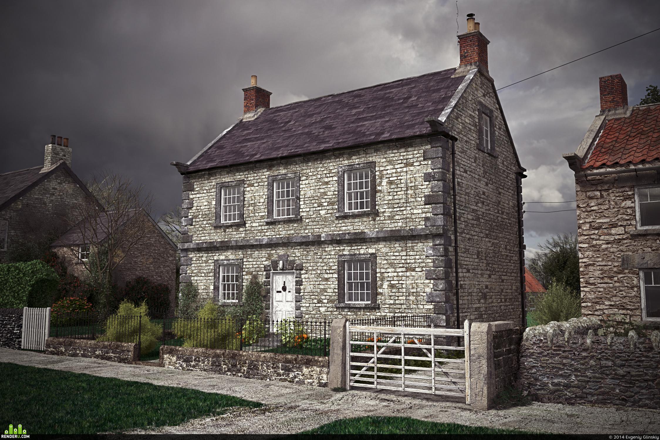 Старинные дома европы фото