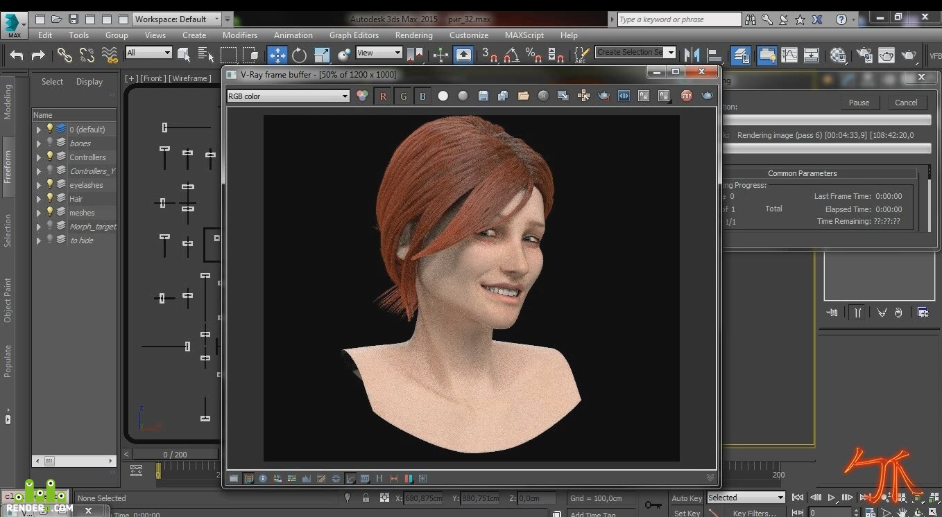 preview Facial Rig - Showreel - By 勹oe 爪i†chell