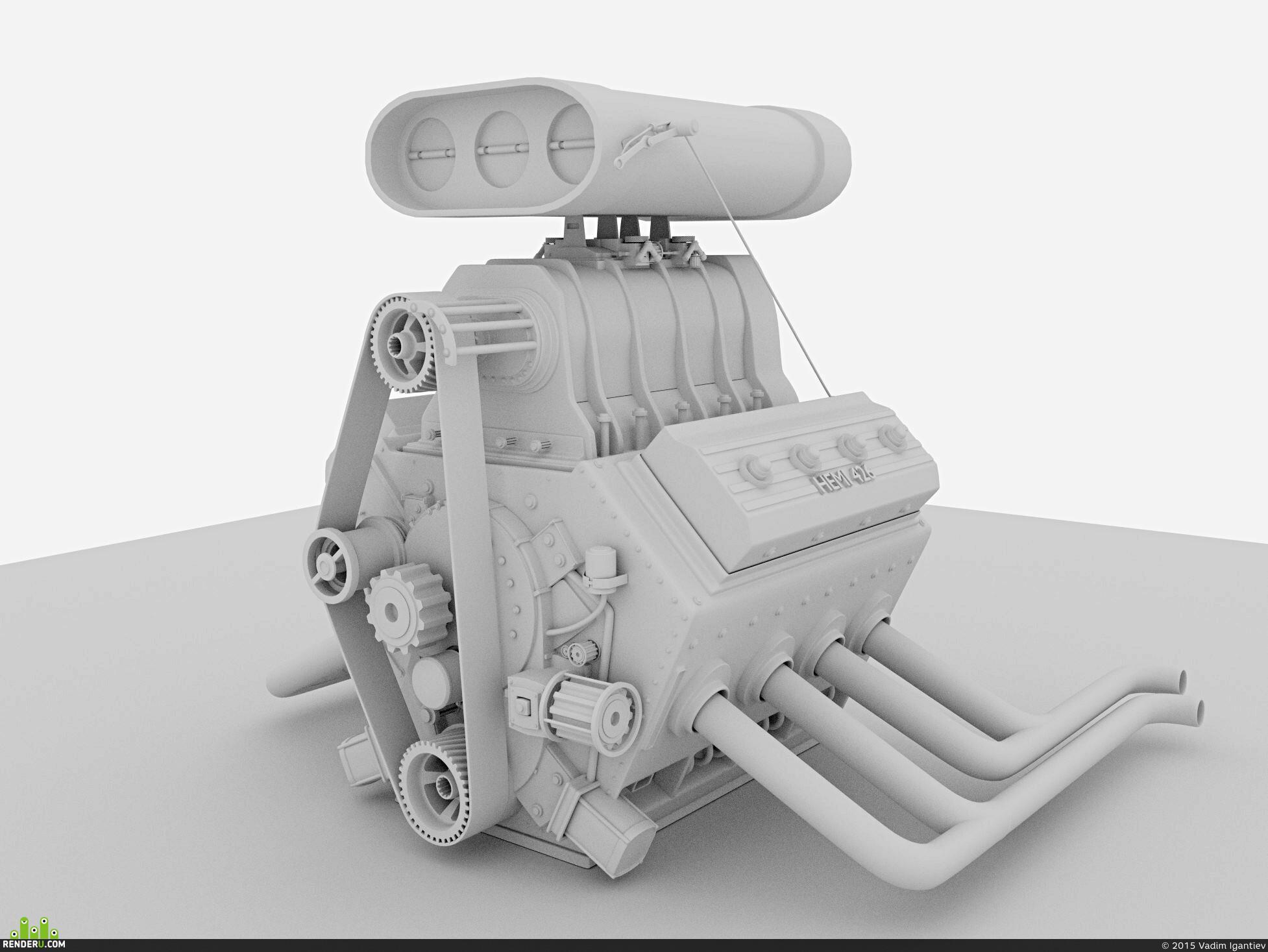 preview Мотор для Hot Rod