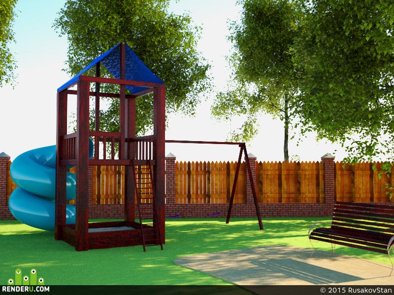 preview Детская игровая площадка