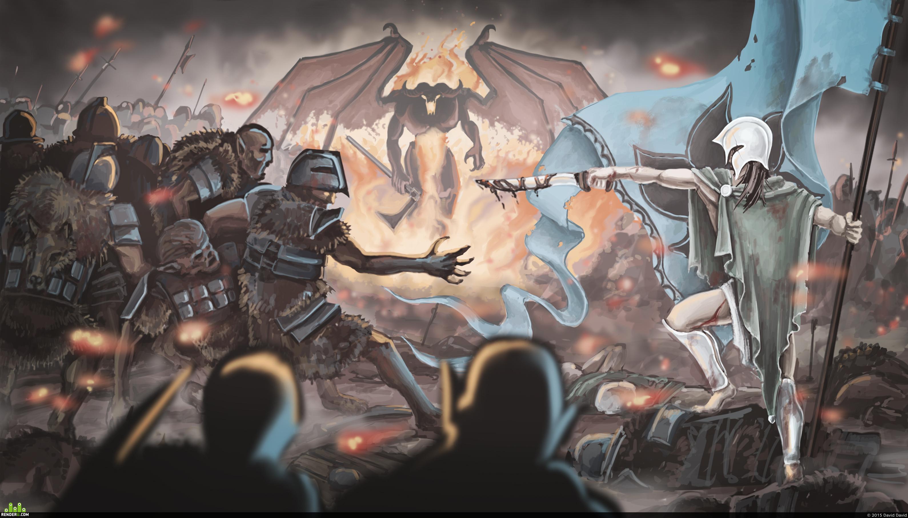 preview Битва тысячи слез. Смерть Фингона