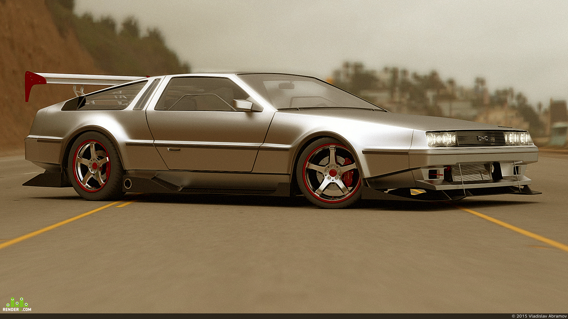 preview DMC DeLorean
